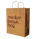 2012 kraft paper shopping bag