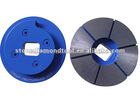 "4"" Snail Lock Edge Diamond Grinding Turbo Wheel"
