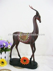 polyresin decorative figurine-- gazelle