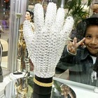 MJ Michael Jackson ultimate collection Handmade crystal glove