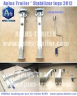 Stabilizer legs for camper trailer & RV 2012