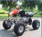 250CC 4-stroke air-cooled 4 forward / 1 built-in reverse gear, manual-clutch ATV