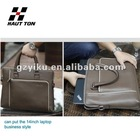 2012 Hot Vintage Genuine Leather Handbag for laptop