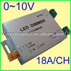 2012 Hot sale ! 0-10V led dimmer 24Vdc 432Watt 1 channel