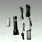 JGH-04 24w Rechargeable Aluminium HID Flashlight Torch.2000Lm Lithium Battery,Waterproof Super Bright