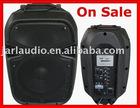 Professional loudspeaker, PA active speaker, DJ speaker