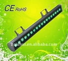 2012 hot-selling 2 year warranty Green/Red/white/ yellow/RGB wall washer led light 18w
