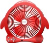 Rechargeable table fan with radio/usb reader