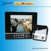 Built-in 4 quad 8 inch lcd monitor with video phone
