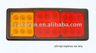 kinglong bus LED rear lamp