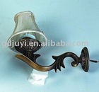 European antique wall light, energy saving lamp, M42