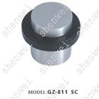 GZ-811 SC zinc alloy & rubber door stopper, door holder, door hardware