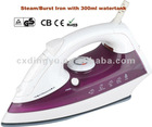 Electric steam iron DY-286 1800W ,300 ml watertank with CE/GS/ROHS