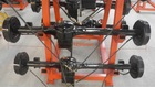 rear axle for electric car