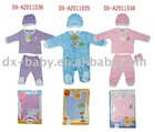 branded new born summer baby gift set