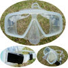 Transparent Two window full silicone diving mask special design