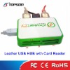 All In One USB HUB COMBO Card Reader
