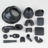 Custom molded rubber parts, TS16949 certificated factory