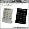 new design hot sale acrylic pipe display for store shop mall