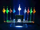 Acrylic cigarette display with LED