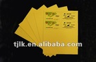 gold inkjet PVC sheets