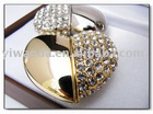 Heart shape usb flash drive,Diamond flash disk