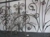 Wrought iron baluster