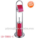LB-861 Red Stainless Steel Toilet Brush