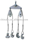 Four bundle conductor lifter lifting tool
