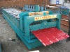 XH820 PLC control automatic glazed tile roll forming machine