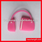 2012hot selling bag shape silicon USB cover