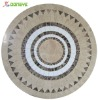 New Outdoor Round Marble Dining Table Top YT581219