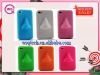 Newest Creative Goods!!! Factory directly Multi-colorful Oriental nasal mould design silicon cover case for iPhone4S