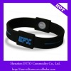 Hot and Fashion Ion Silicone Bracelet for Promotion
