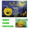 2012 new design seeds paper of Halloween postcard
