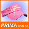 hot sell embroidery sun visor cap