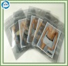 zipper plastic underwear packing bag