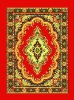 Knitted Pleuche PVC or Black Cotton Prayer Carpet
