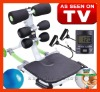 Total Core(Item No.:SP-030) with EVA seat,Counter,Balance Ball,Power Cords,Guide Book,DVDs..