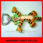 soft pvc 2D&3D antique magnet rubber rubber handle bottle opener