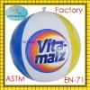 "Factory sale at very good cost Newly beach ball 16"" with 6 color solid printing for adversiting and promotions!!"