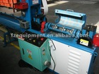 reinforcing wire flattening and cutting machine