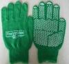 String knit cotton gloves
