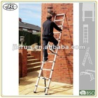 3.2m telescopic ladder aluminum step ladder