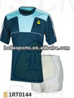 2012 fashion insert piping line o neck short sleeve design your own dry fit short sleeve rugby kit