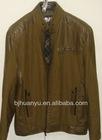 man leather motorcycle jacket young men lastest design long sleeve jacket