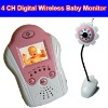 4 CH Wireless Digital Baby Monitor with 1.5'' LTPS-TFT