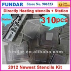 310pcs heat directly bga reballing stencil
