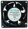 DC 80x80x38mm Cooling Fan
