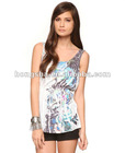 Floral Sublimation Top HFCT117